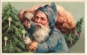 Blue Santa 2